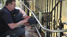 Montage eines HIRO Treppenlifts