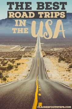 Road trips are the best way to travel through the U. and here are some of the best road trip routes. Route 66 California Florida and more - there's something for everyone. Route 66 Road Trip, Road Trip Packing, Us Road Trip, Road Trip Essentials, Road Trip Hacks, Road Trip To California, Road Trip Planner, Family Road Trips, Ways To Travel