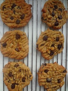 10 Minute Peanut Butter Chocolate Chip Protein Cookies