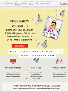Party Websites Plan Your Party with Your All-In-One Free Party Planner Bird Birthday Parties, Wild One Birthday Party, Cowgirl Birthday, Birthday Party Outfits, 1st Birthday Girls, Free Party Invitations, Party Planning Checklist, Party Food And Drinks, Party Activities
