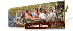 Take an Airboat Tour at #GatorPark! An alligator adventure in the heart of the #EvergladesNational Park! #Everglades