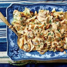 Recipes from the September Issue of Southern Living: Mushroom Stroganoff