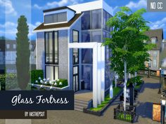 Unfortunately, this house is not placed in San Myshuno, but in Winderburg, although I hope it's enough for your sims to feel the city character ;) This tenement house is designed for a single or a...