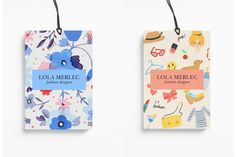 melissachaib:  New identity project for Lola Merlec, a fashion designer based in New York, she has her own self named clothing label. Finding inspiration in the modern day woman. For this project I developed the brand's visual identity through the packaging, clothing labels and more.
