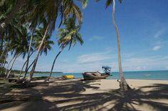 Praia Japaritinga Maragogi BR.