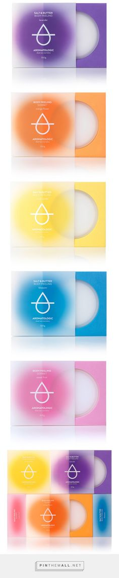 Aromatologic Spa #Cosmetics #packaging designed by Mousegraphics - http://www.packagingoftheworld.com/2015/06/aromatologic-spa-cosmetics.html