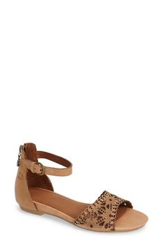 GERRY WEBER 'Beach' Leather Ankle Strap Sandal (Women) available at #Nordstrom