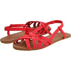 red sandals $27.00