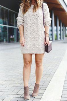 Wonderful Winter Sweater Dress