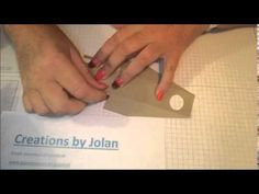 Creations by Jolan: Handgel Template / Jolanda Meurs