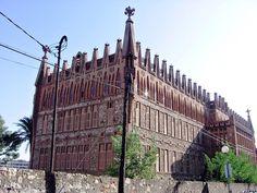 Teresian College, Barcelona, Gaudi buildings, Spain