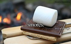 I like roasting the marshmallows more than eating the s'mores. After all, the journey often means more than the destination. :)