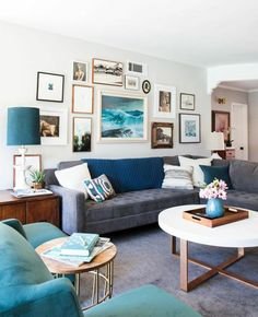 Style by Emily Henderson - Weekend Makeover| Mid-century Eclectic Artist