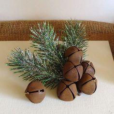 Rusty Jingle Bells rusty bells  country primitive by RaggedyRee, $8.99