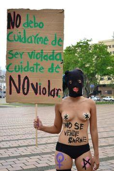 Marcha de las Putas 2013, Cali-Colombia