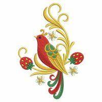 OregonPatchWorks.com - Sets - Russian Folk Art Khokhloma 4