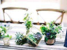 Denver Colorado wedding venue - Villa Parker - centerpieces, florals