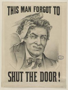This man forgot to shut the door! Shut The Door, Library Of Congress, This Man, Forget, Doors, Museum, Signs, City, Search