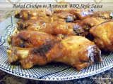 Recipe Baked Chicken in Aristocrat BBQ-Style Sauce by Cafe Munchkin