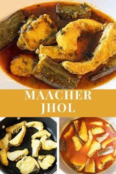 Home style cooking, authentic and delicious fish curry, a taste of home. Fish curry cooked with sauteed long Chinese eggplant. Tender fresh water fish pieces, and the perfect jhol, gravy. #MaacherJhol #BengaliFishCurry #MaachBegun #FishDish #EasyFishCurry Lunch Recipes, Easy Dinner Recipes, Easy Meals, Cooking Recipes, Easy Delicious Recipes, Delicious Food, Tasty, Bengali Fish Curry, Chinese Eggplant
