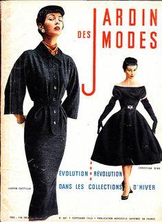 Jardin des modes 1953