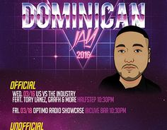 """Check out new work on my @Behance portfolio: """"Dominican Jay Flyer"""" http://be.net/gallery/37736915/Dominican-Jay-Flyer"""