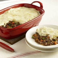 Shepherd's Pie is a classic, one-dish meal that combines beef and vegetables in a delicious gravy that is topped with mashed potatoes.