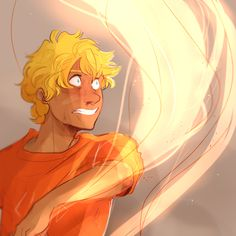 Headcanon that Will discovered his light bending powers mid-battle when he was badly injured and protecting one of his siblings despite having no weapons