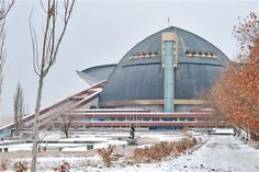 The Sports and Music Complex in Yerevan, Armenia