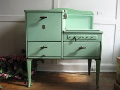 Estate Brand Jadeite 1920's Gas Stove.