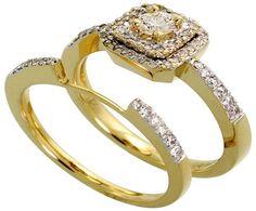 14k Gold Wedding Ring Sets