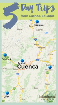 5 Day Trips from Cuenca, Ecuador: Ingapirca, Giron, Cajas National Park, Gualaceo, Chordeleg, Sig Sig, Amaru Zoo | Intentional Travelers