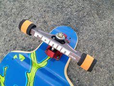 Dat cored wheel #SWAG. Also, RONIN precision trucks, Kebbek boards.