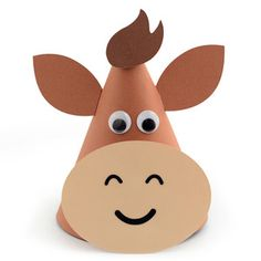 Silhouette Design Store - View Design #152578: farm cow party hat