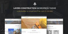 Max Construction – WordPress Theme cho công ty xây dựng