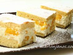 Túrós barackos pite Cake Cookies, Cornbread, Feta, Sweets, Cheese, Chocolate, Ethnic Recipes, Millet Bread, Sweet Pastries