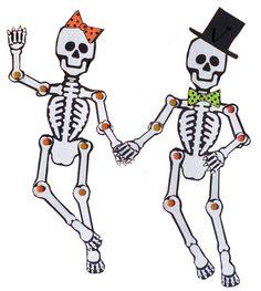 9 Printable Skeleton Crafts Printable Pages Pinterest