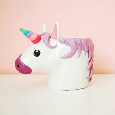 DIY: unicorn mug (Pencil cup holder)