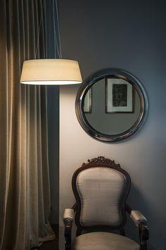 AINA LED Lámpara colgante blanco