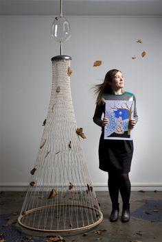Isabelle Daeron - Portraits by Chiara Cadeddu, via Behance