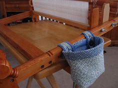 What a fabulous way to use a small piece of handweaving!