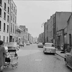 Fabulous Snapshots Of Ireland - Flashbak Dublin City, Old Maps, Dublin Ireland, Camera Photography, Historical Photos, Old Photos, Countryside, Monochrome, 1960s