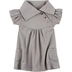 Amazon.com: Kate Quinn Organics Lounge Dress - Short-Sleeve - Infant Girls': Clothing