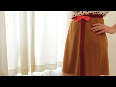 ▶ How to Make a Skirt from a Dress || KIN DIY - YouTube