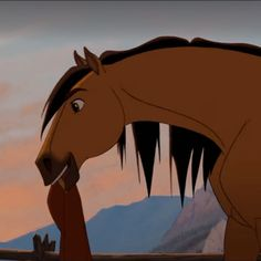 Spirit Horse Movie, Spirit The Horse, Spirit And Rain, Kiger Mustang, Horse Movies, Movie Wallpapers, Aesthetic Stickers, Great Movies, Dreamworks