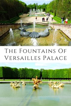 The Fountains Of Versailles Palace