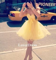 Short Homecoming Dress / Homecoming Dress 2014 / by LoverDress, $126.00