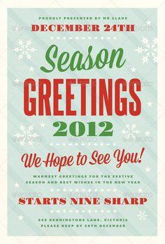 Festive - Christmas Flyer Template