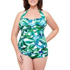 a9944c7e5bc Simply Slim - Suddenly Slim By Catalina Women s Plus-s - Walmart.com