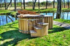 vertikal sauna aus holz mit elektroofen oder holzofen 1. Black Bedroom Furniture Sets. Home Design Ideas